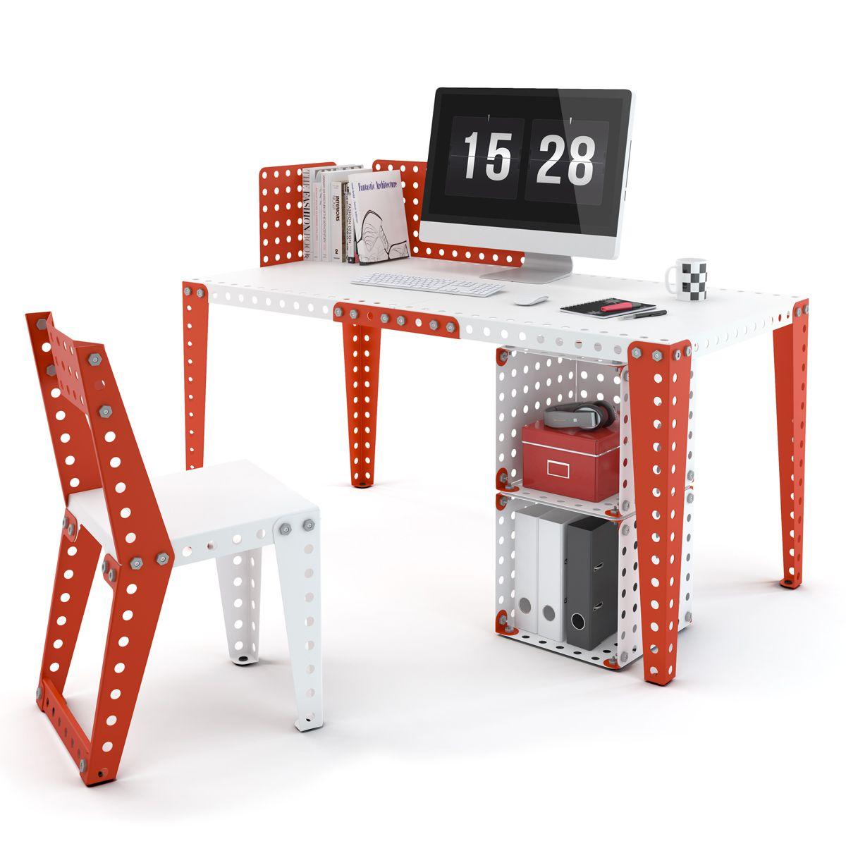 meccano des jouets de construction au mobilier design deco maison design. Black Bedroom Furniture Sets. Home Design Ideas