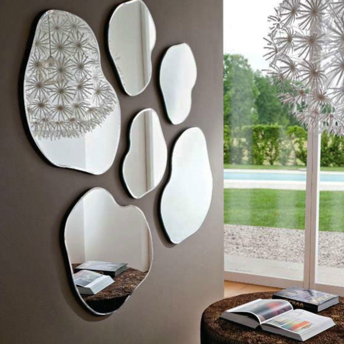 January 2016 deco maison design for Miroir design pour salon