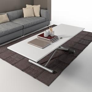 Table basse modulable Gingillo Acier