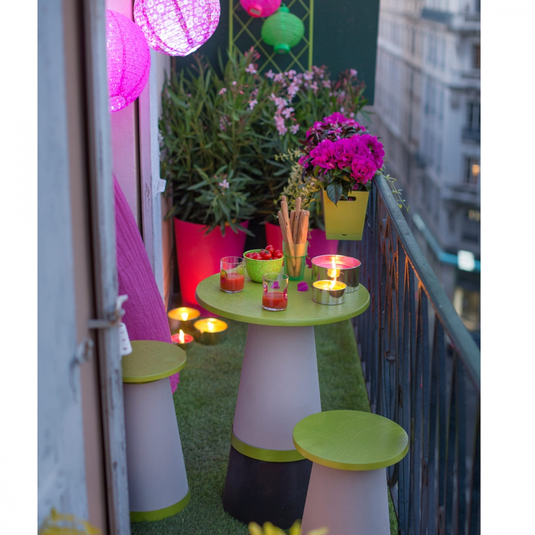 Zendart author at deco maison design - Petit salon pour balcon ...