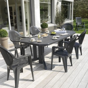 Table de jardin GROSFILLEX - Zendart Design