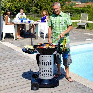 Indispensables de l'été cuisine extérieure barbecue et plancha gaz Bonesco Campingaz - Zendart Design