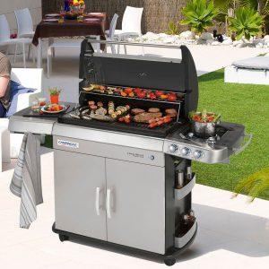 Indispensables de l'été cuisine extérieure barbecue gaz et plancha Campingaz - Zendart Design