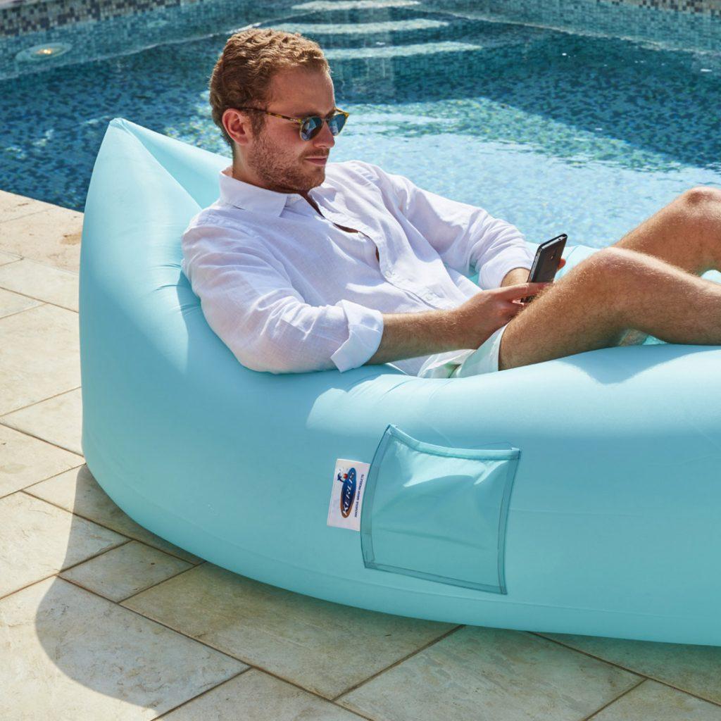 Accessoires de piscine : Hamac gonflable l'Airbag Kerlis