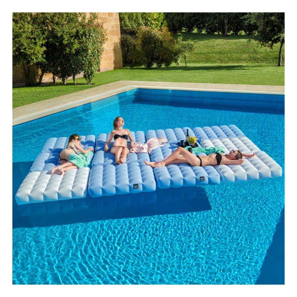 Accessoires de piscine : Matelas gonflable pour piscine Pigro Felice