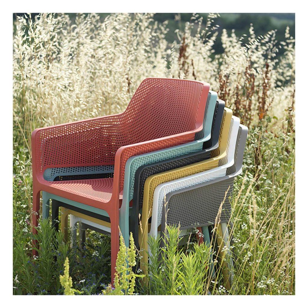 mobilier d'extérieur fauteuil exterieur Net Relax Nardi
