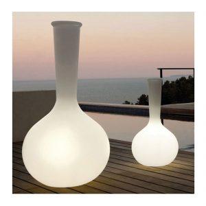 Pot de fleur design Vase lumineux Chemistubes Vondom