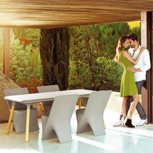 designer célèbre karim rashi table vondom sloo vondom
