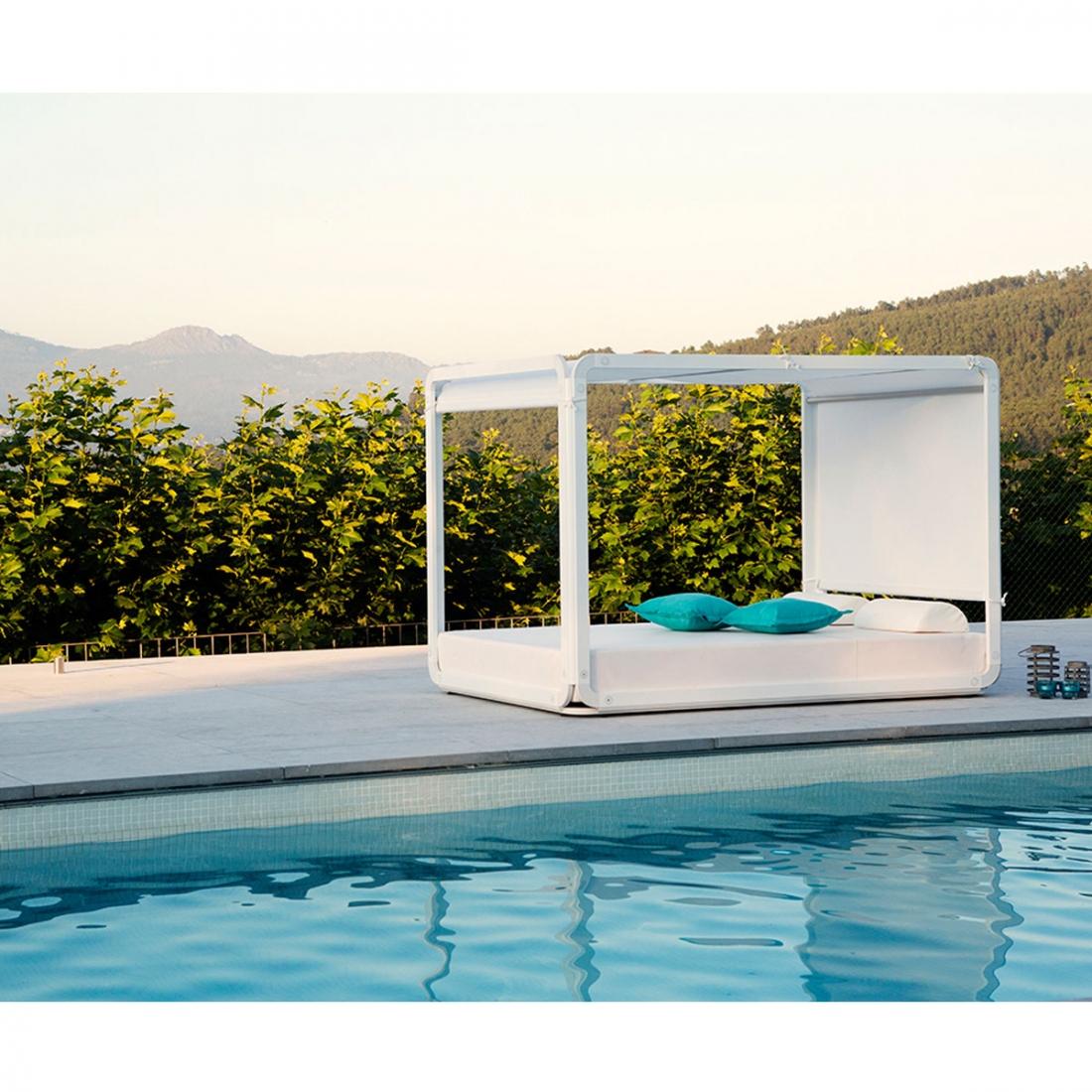 Lit Exterieur Design lit-pergola-daybed-ibiza-ezpeleta2 - deco maison design
