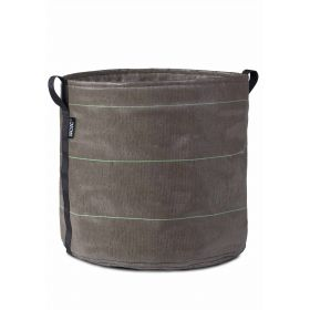 Grand pot de fleurs Géotextile 100L BACSAC - Zendart Design