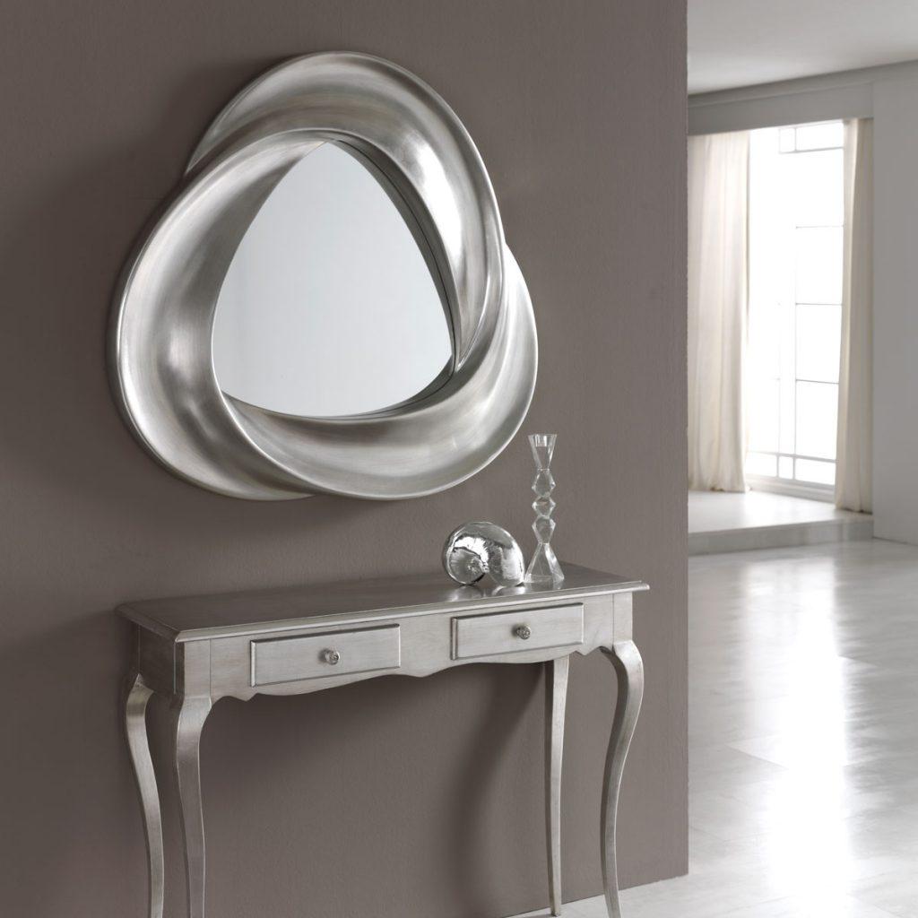 Miroir Argent Mobius - Zendart Design