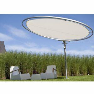 Parasol déporté design Eclipse UMBROSA - Zendart Design