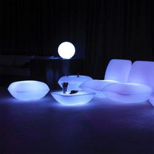 Table basse lumineuse Pillow Vondom - Zendart Design