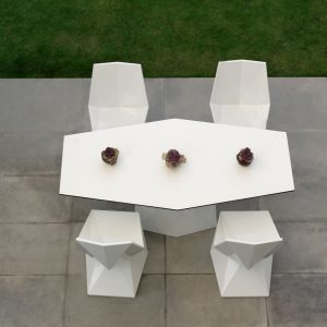 Chaise contemporaine lumineuse design extéroieur Vertex Vondom - Zendart Design