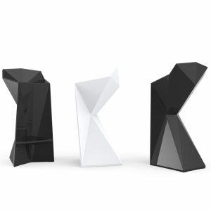 Tabouret haut extérieur design Vertex Vondom - Zendart Design
