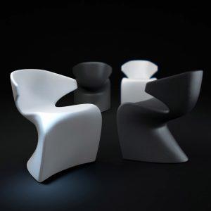 Chaise de repas design Wing Vondom - Zendart Design