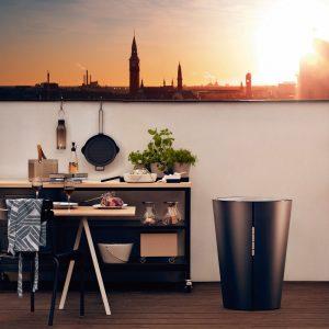 Indispensables de l'été barbecue à gaz avec thermomètre Eva Solo - Zendart Design