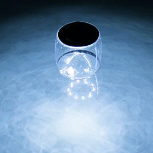 Jeux de piscine Lampe solaire flottante KERLIS - Zendart Design