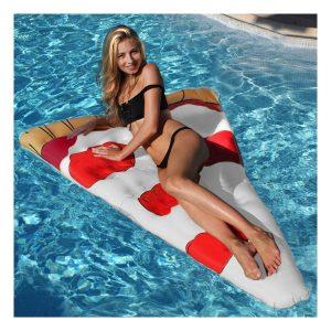 Jeux de piscine matelas gonflable pizza KERLIS - Zendart Design