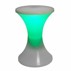 objet vitage tabouret lumineux design tam tam vert stamp edition - Zendart Design