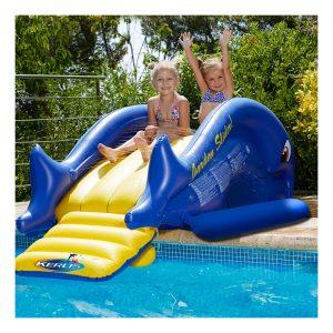 Jeux de piscine toboggan pour piscine KERLIS - Zendart Design