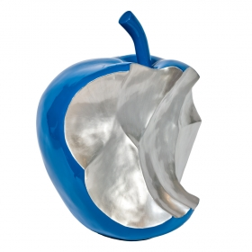 Déco originale - Sculpture pomme croquée LACORNE DECORATION - Zendart Design
