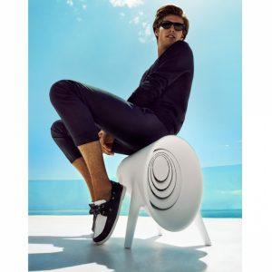 Tendance déco futuriste - Enceinte Bluetooth extérieur Vondom - Zendart Design