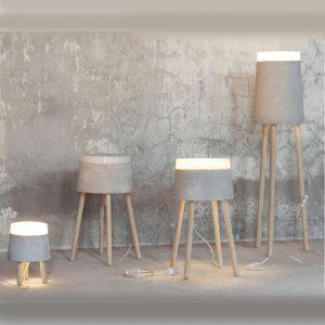 Tendance déco vintage - Lampe à poser design Beton Serax - Zendart Design