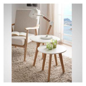 Tendance déco scandinave - lampe de table bois Copenhague - Zendart Design