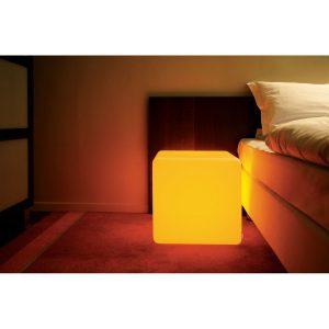 Table basse Cube intérieur LED RGB MOREE