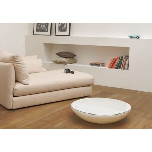 Table laqué blanc basse lounge Variation Indoor MOREE
