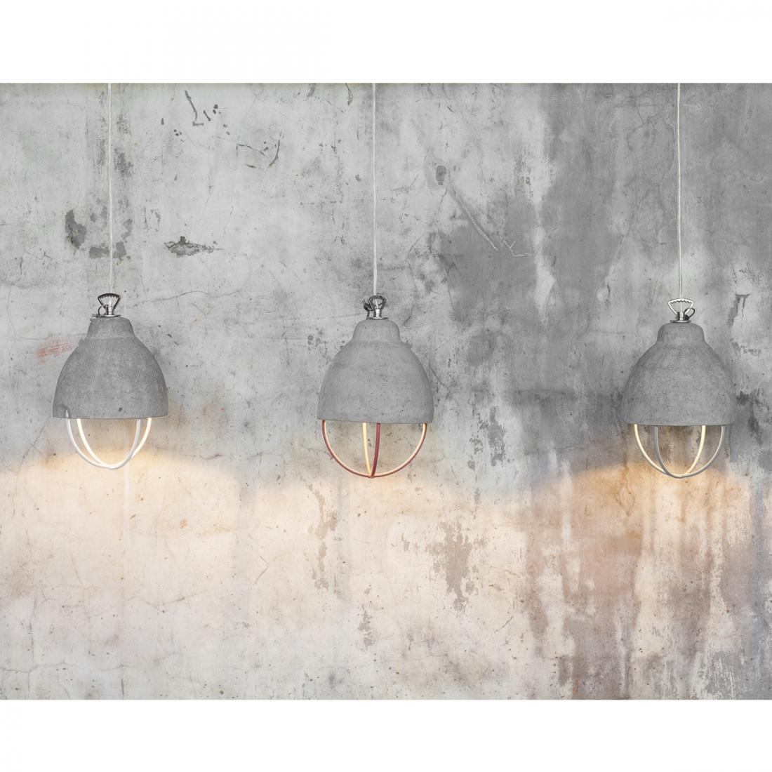Lampe style industriel